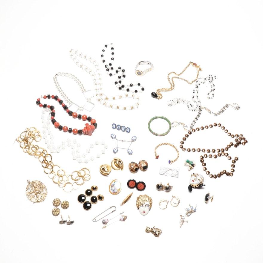 Ugo Correani, Swarovski and Other Costume Jewelry