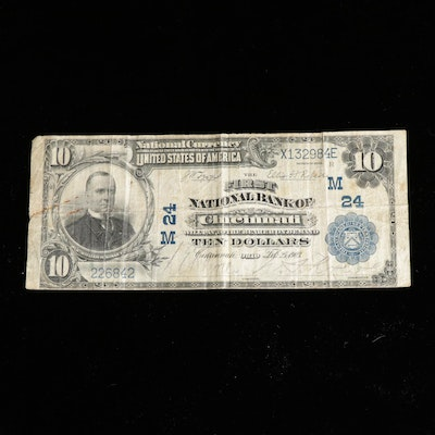Series of 1902 $10 National Bank Note