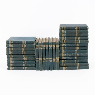 Charles Dickens Hardback Books, Volumes II through XXX, c. 1900