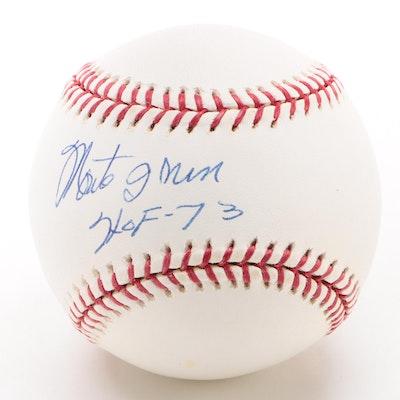 Monte Irvin Signed Major League Baseball