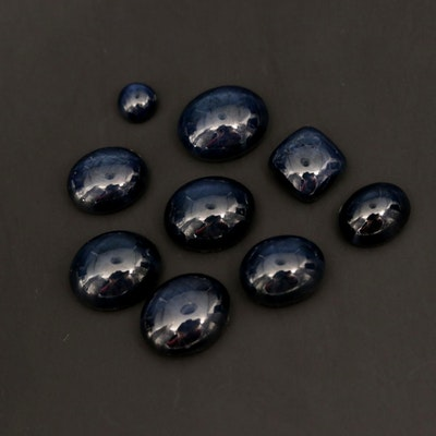 Loose 41.75 CTW Star Sapphire Gemstones