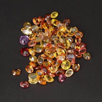 Loose 21.33 CTW Fancy Sapphire Gemstones