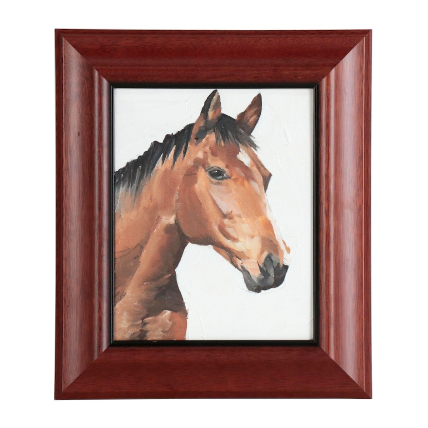 James Coates Oil Painting of Horse