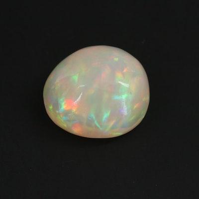 Loose 3.88 CT Opal Gemstone