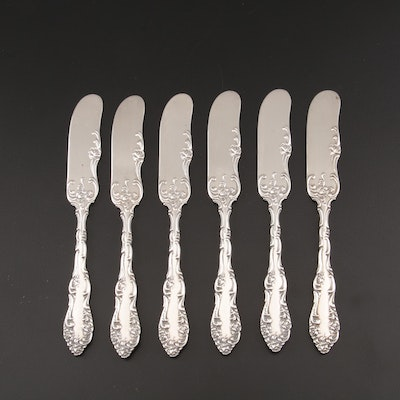 """Towle """"Old English"""" Sterling Silver Butter Spreaders"""
