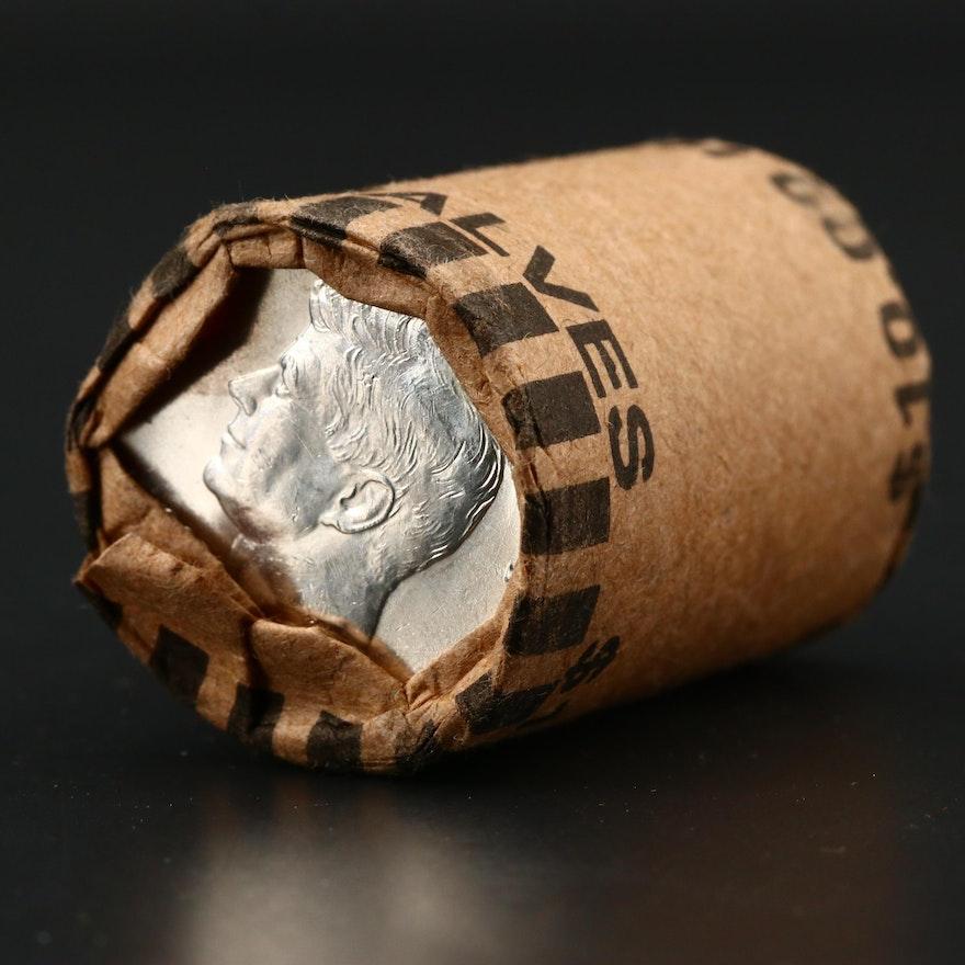 Roll of Twenty Uncirculated 1964 JFK Silver Half Dollars