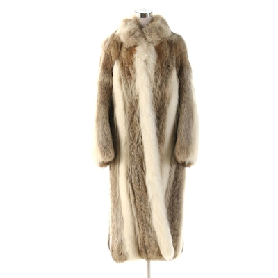 Coyote Fur Full-Length Coat by Mark Perlman's Anderson Fur Company