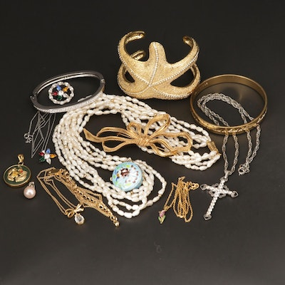 Assorted Jewelry Featuring Swarovski, Kate Spade and Lily Pulitzer