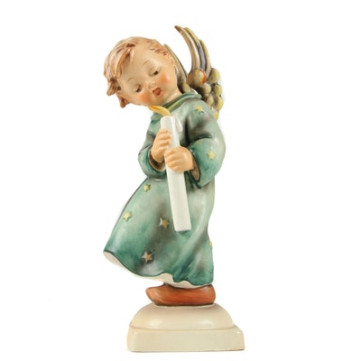 "Hummel ""Heavenly Angel"" Porcelain Figurine, 1960–1972"
