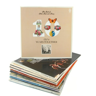 Folk, Pop and Rock Record Albums and More