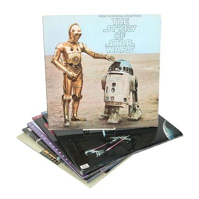 Star Wars Trilogy LaserDiscs and Soundtrack Album