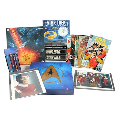 Star Trek: The Original Series LaserDisc Film Set with Collector Plates and More