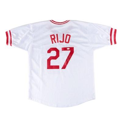 Jose Rijo Signed Cincinnati Reds Baseball Jersey, JSA COA