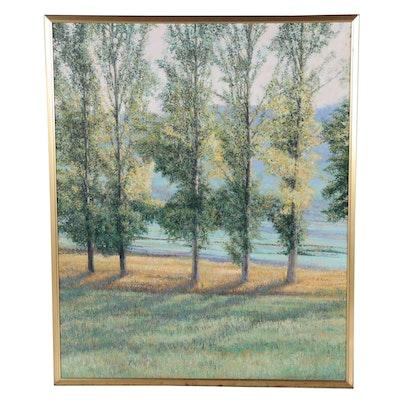 Philip Joseph Realist Landscape Oil Painting