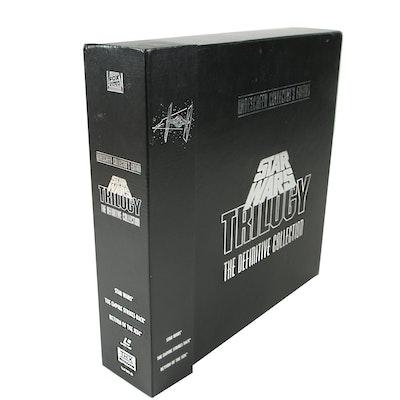 Star Wars Trilogy Widescreen Collector's Edition LaserDisc Box Set