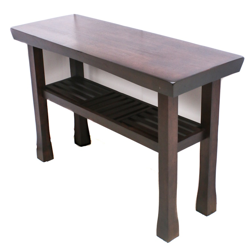 Arts and Crafts Sofa Table, Contemporary