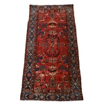 3'1 x 6'4 Hand-Knotted Persian Malayer Runner, 1920s