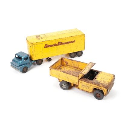 "Ertl Toys ""Structo"" Diecast Toy Vehicles, Vintage"