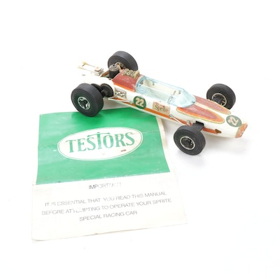 Testors Indy 500 Sprite Tether Car, 1970s