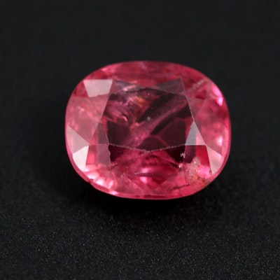 Loose 2.06 CT Pink Spinel Gemstone