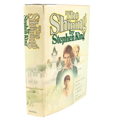 "1977 First Edition, First Printing ""The Shining"" by Stephen King"