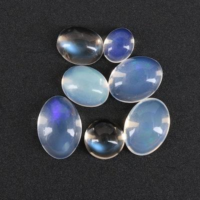 Loose 11.02 CTW Moonstone Gemstones
