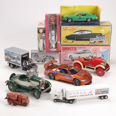 50's, MotorMax, Hallmark, Funline and Other Diecast Vehicles and Accessories