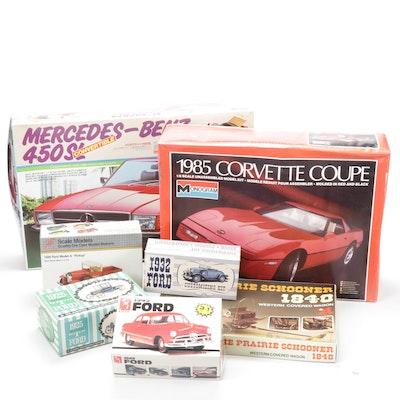 AMT, Monogram, Doyusha and Other Model Vehicle Kits