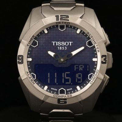 Tissot T-Touch Solar Titanium Multi function Quartz Wristwatch