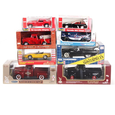 Revell, Racing Champions, Majorette and Other Diecast Vehicles