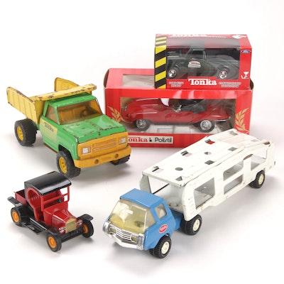 Tonka Diecast Metal Toy Vehicles