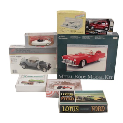 Testors, Boley and Other Model Kits and Diecast Vehicles
