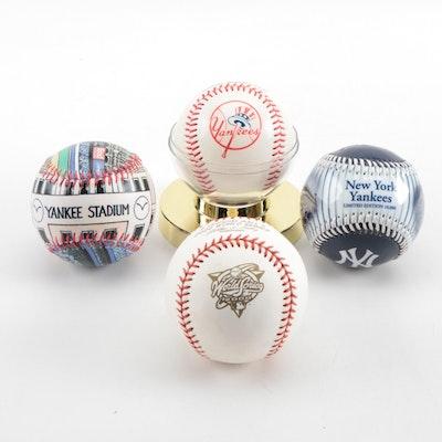 New York Yankees and 2000 World Series Baseballs