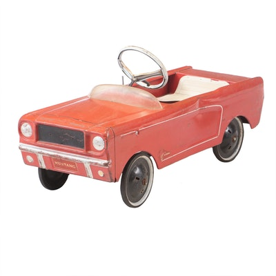 AMF Ford Mustang 535 Child's Convertible Pedal Car, 1960s