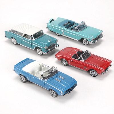Danbury Mint Diecast Chevrolet Model Cars