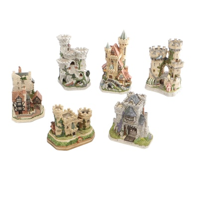 David Winter Cottages Limited Edition Castles Including The Kingmaker's Castle