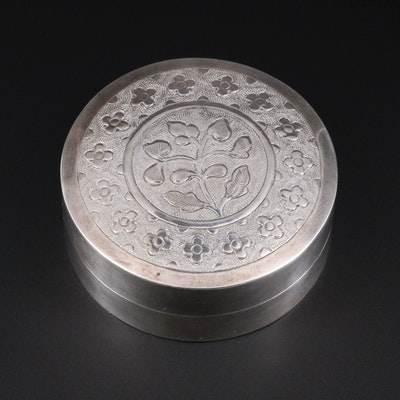 Sterling Silver Snuff Box