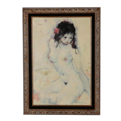 Figure Oil Painting of Female Nude