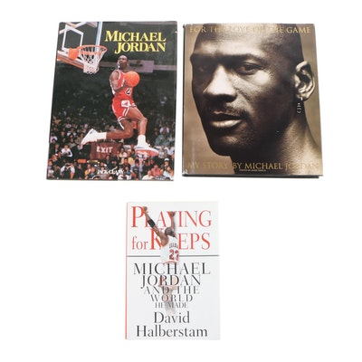 """Michael Jordan Biographies including """"Playing for Keeps"""""""