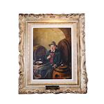 Franz Kerber Oil Painting of Gentleman Vinter
