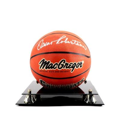 "Oscar Robertson Signed MacGregor ""Collegiate"" Basketball"