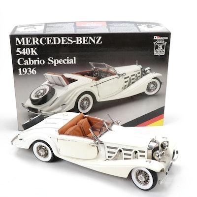 Pocher 1936 Mercedes-Benz 540K Cabrio Special Model Kit