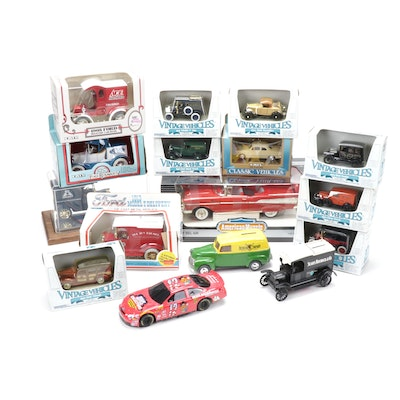 """Ertl Toys """"Vintage Vehicles"""" and Other Diecast Vehicle Models, Contemporary"""