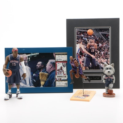 Vince Carter New Jersey Nets and Toronto Raptors NBA Collectibles, Contemporary