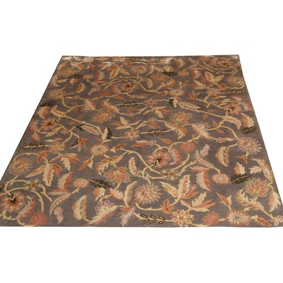 8'2 x 10'1 Hand-Knotted Tibetan Wool Rug from The Rug Gallery
