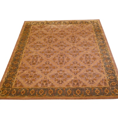 9'10 x 11'10  Hand-Knotted Tibetan Wool Rug from The Rug Gallery