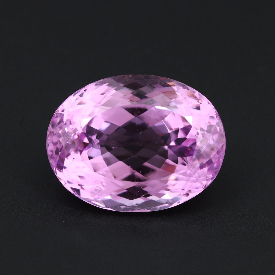 Loose 53.80 CT Amethyst Gemstone