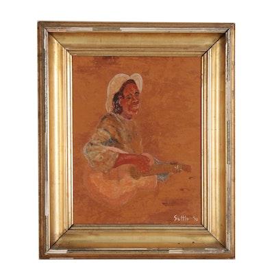 Greene A. Settle Portrait Oil Painting