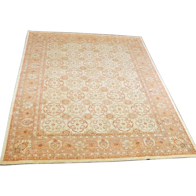 9' x 12' Hand-Knotted Pakistan Persian Wool Rug from The Rug Gallery