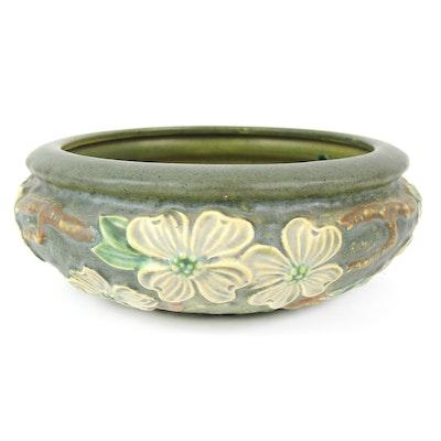 "Roseville Pottery ""Dogwood"" Bowl, 1910s"